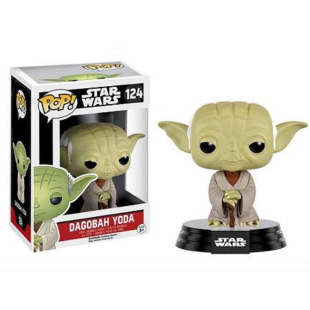 Funko Pop Star Wars Dagobah Yoda 124