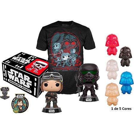 Funko Box Collectors Star Wars Rogue One Camiseta M Exclusivo