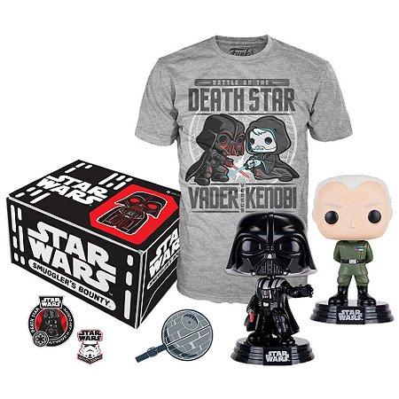 Funko Box Collectors Star Wars Death Camiseta G Exclusivo