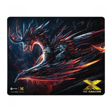 Mouse Pad Gamer Vx Gaming Vinik Dragon - 320X270X2mm