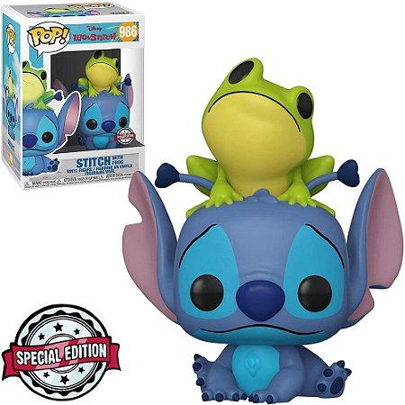 Funko Pop Disney Lilo Stitch Exclusive - Stitch With Frog 986
