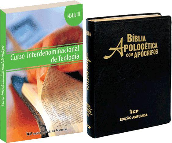 Curso Interdenominacional de Teologia à Distância - Bacharel - 12 Módulos