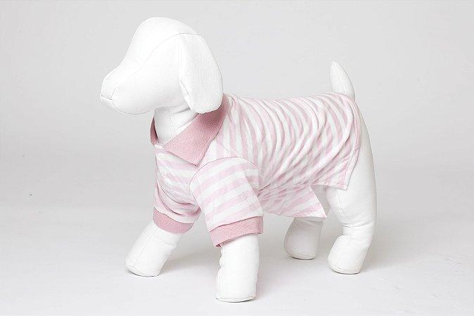 Roupinha para Cachorro Petisco - Camisa Polo Fêmea