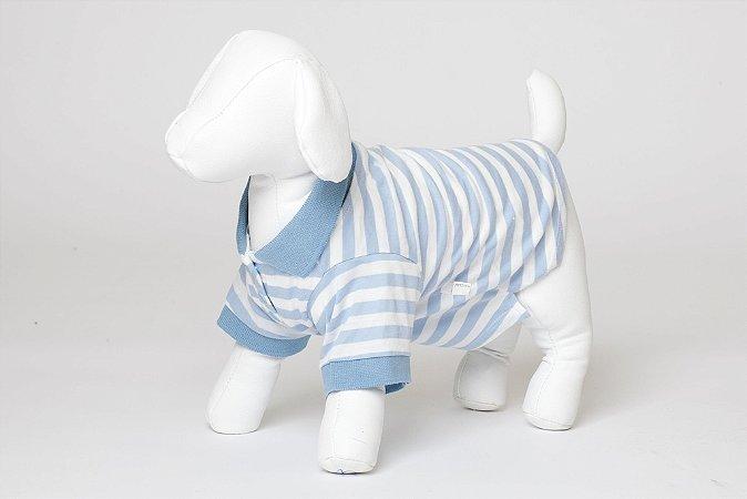 Roupinha para Cachorro Petisco - Camisa Polo Macho