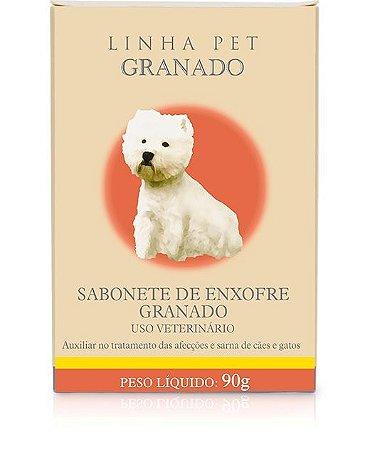SABONETE DE ENXOFRE PARA CACHORRO - GRANADO PET
