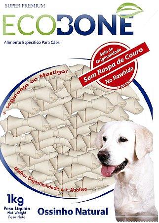 Ossinho Para Cachorro Natural 100% Vegetal Nó 2/3