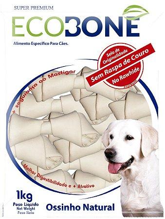 Ossinho Para Cachorro Natural 100% Vegetal Nó 9/10 - 1Kg
