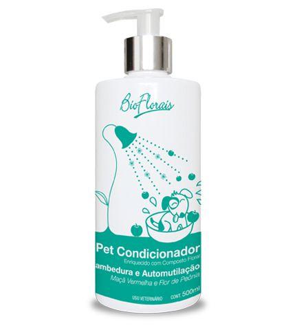 Condicionador para Pet Bio Florais Lambedura e Automutilação - 500 ml