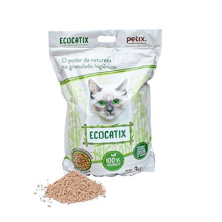 Areia para Gato Biodegradável EcoCatix 3KG