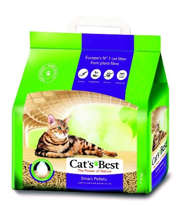 Areia de Gato Cat's Best 5KG (The Power of Nature)