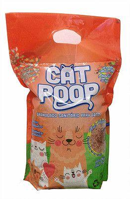 Areia de Gato Cat Poop 2,5KG