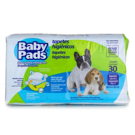 Tapete Para Cachorro Baby Pads 30 Unidades