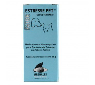 Fator Estresse Pet - Arenales Homeopatia Animal - Stress