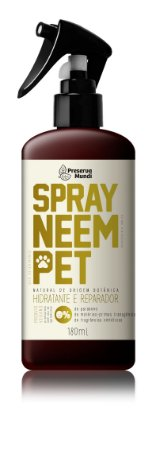 Spray Neem Pet - Flores & Ervas 180ml - Antipulgas Natural