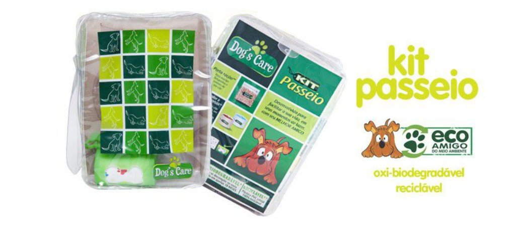 Kit Passeio Dog's Care