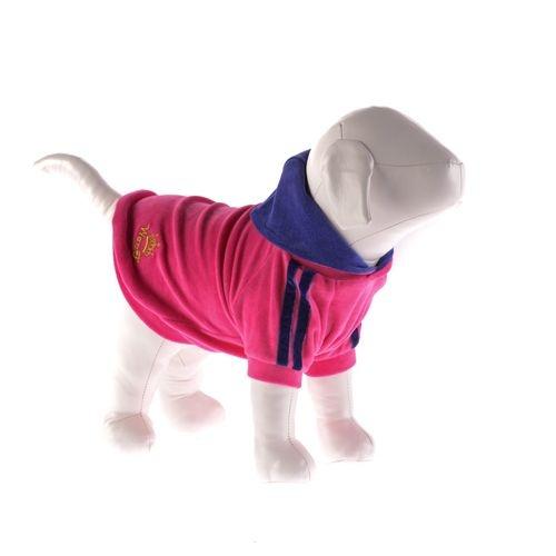 Roupinha de Plush com Capuz/Gola - Pink n°12