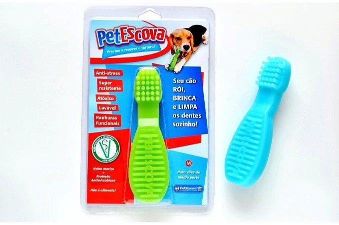 Brinquedo Mordedor Pet Escova M