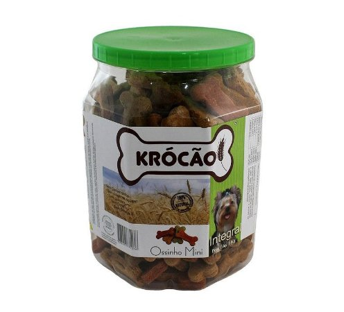 Krocão Biscoito Integral MINI Ossinho Mix 1Kg