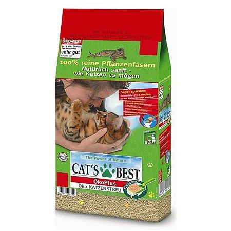 Areia Para Gato Cat's Best 17KG
