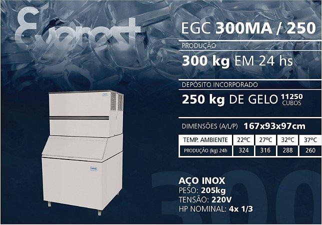 MÁQUINA DE GELO EGC 300MA/250 220V