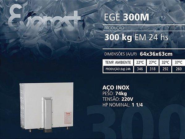 MÁQUINA DE GELO EGE 300M (220V)