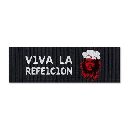 Tapete de Cozinha 1,25x0,40cm - Viva la Refeicion