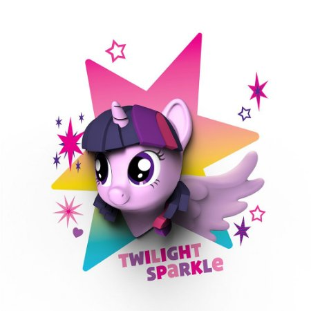 Luminária 3D Light FX My Little Pony Twilight Sparkle