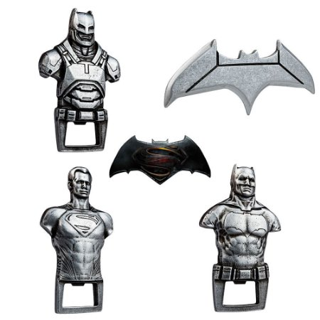 Kit 20 Abridores de Garrafas Batman Vs Superman - Beek