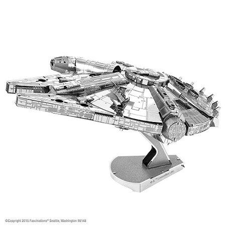 Mini Réplica de Montar ICONX STAR WARS Millennium Falcon Grande
