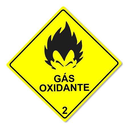 Placa Decorativa 30x30 - GÁS OXIDANTE