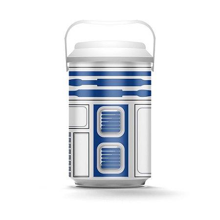 Cooler 10 Latas Robô Azul - Beek