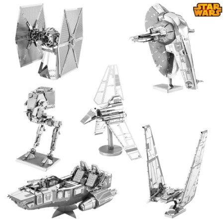 Kit Mini Réplicas de Montar STAR WARS Primeira Ordem