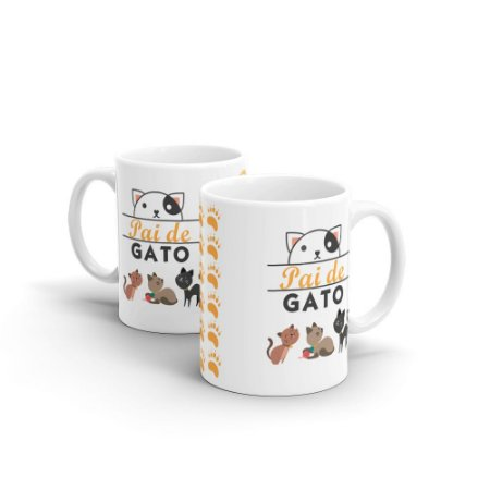Caneca Personalizada Pai de Gato - Beek