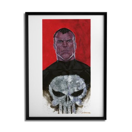 Quadro Decorativo Punisher By João Silveira - Beek