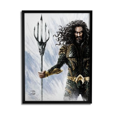 Quadro Decorativo Aquaman By Baal's - Beek