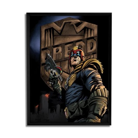 Quadro Decorativo Dredd By Baal's - Beek