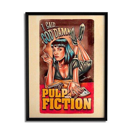 Quadro Decorativo Pulp Fiction By Renato Cunha - Beek