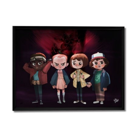 Quadro Decorativo Stranger Things By Júlio Magah - Beek