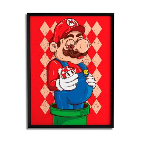 Quadro Decorativo Mario By Igor Tiogo - Beek