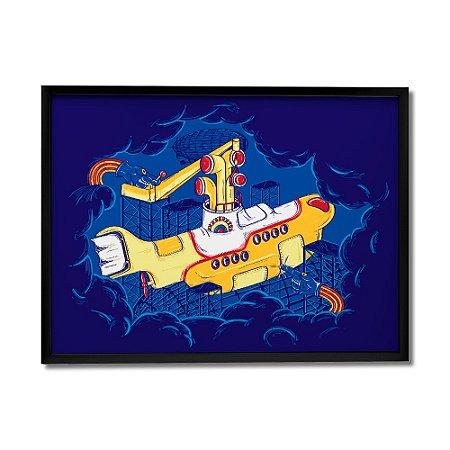 Quadro Decorativo Submarino By Igor Tiogo - Beek