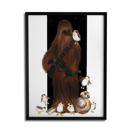 Quadro Decorativo Chew Porgs By Júlio Magah - Beek