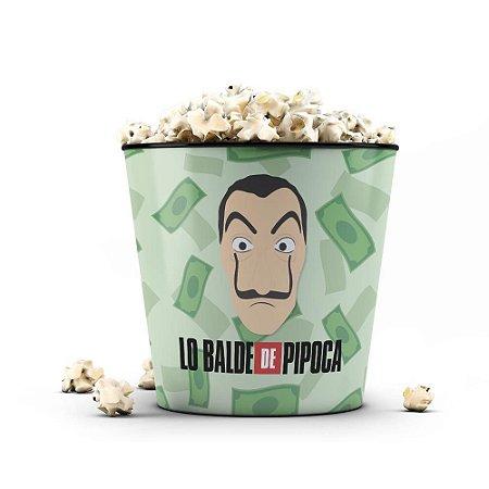 Balde de Pipoca * NOVO MODELO 3,5 litros * - LO BALDE
