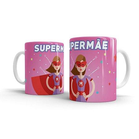 Caneca Personalizada Cerâmica Super Mãe - Beek