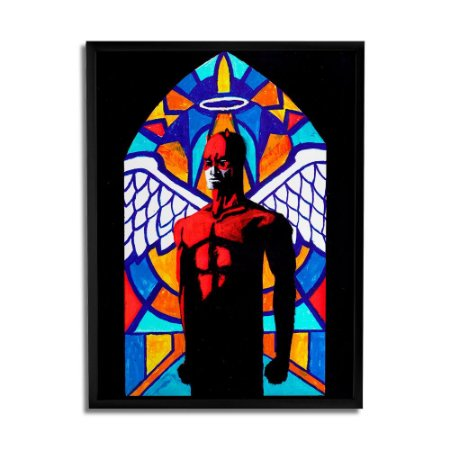 Quadro Decorativo Hell's Church By Fabio Q - Beek