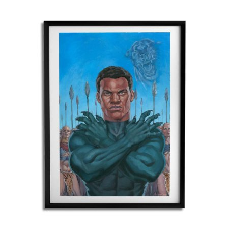 Quadro Decorativo Black King By João Silveira - Beek