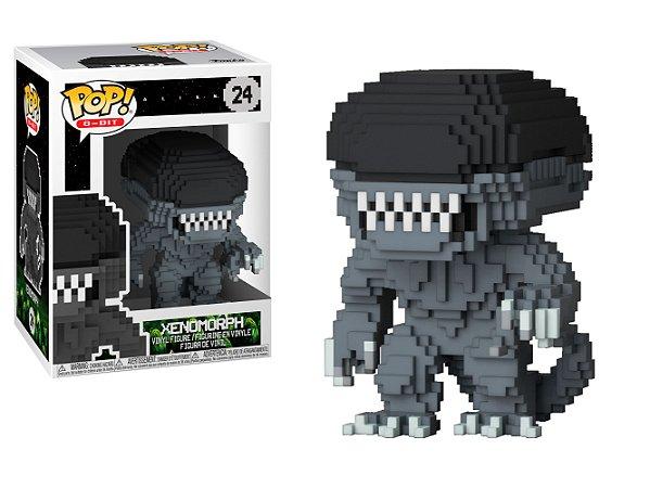Estatueta Funko 8-Bit Pop! Horror - Alien