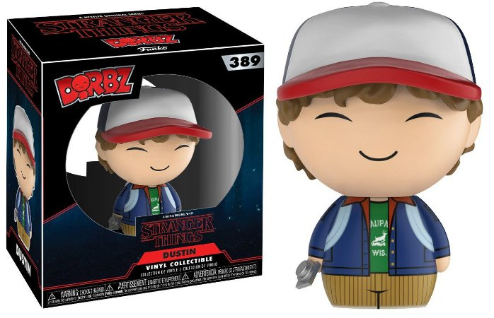 Estatueta Funko Dorbz Stranger Things S3 - Dustin