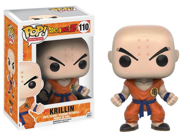 Estatueta Funko Pop! Animation Dragonball Z - Krillin
