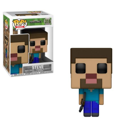 Estatueta Funko Pop! Games Minecraft - Steve