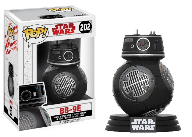 Estatueta Funko Pop! Star Wars The Last Jedi - Bb-9e